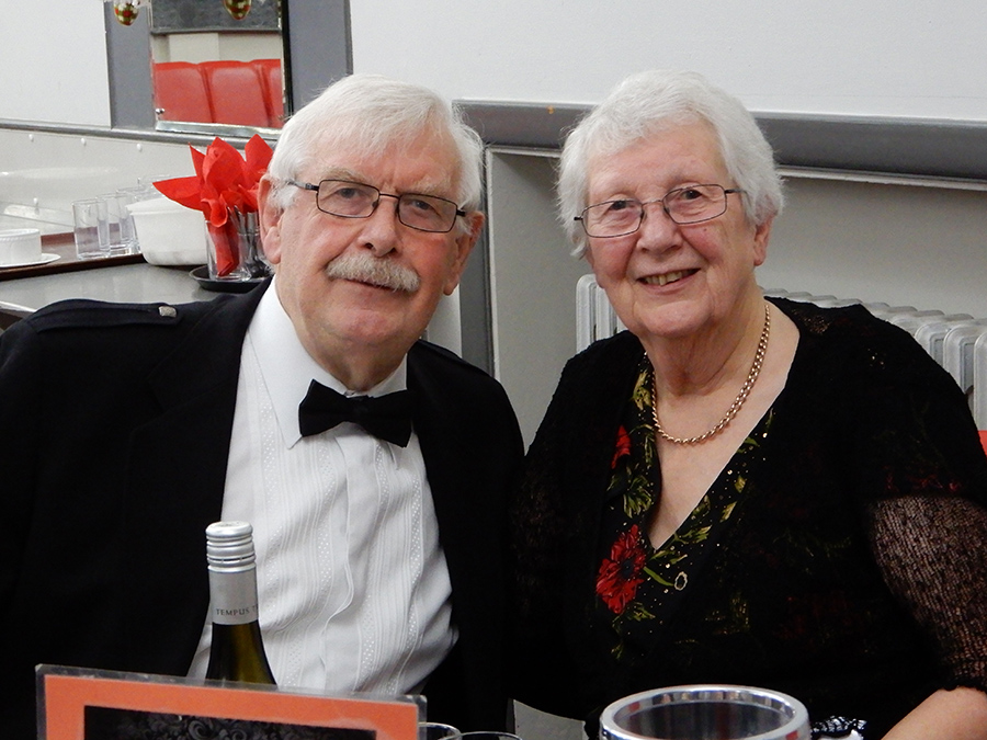 Mary and David celebrating their Golden Wedding
